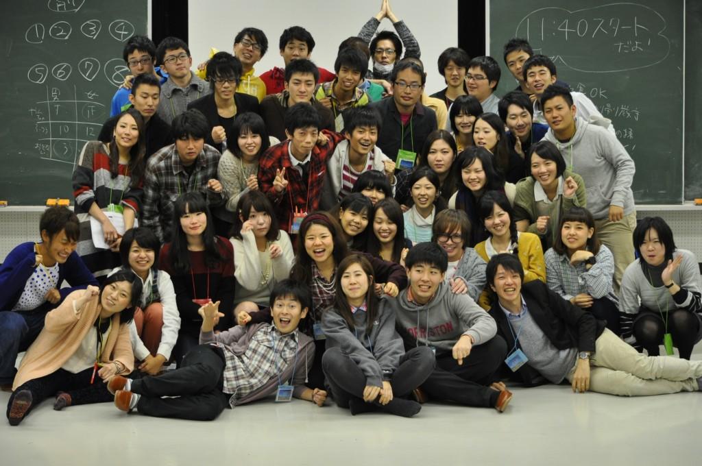 西尾さんが参加した授業のスタッフ集合写真